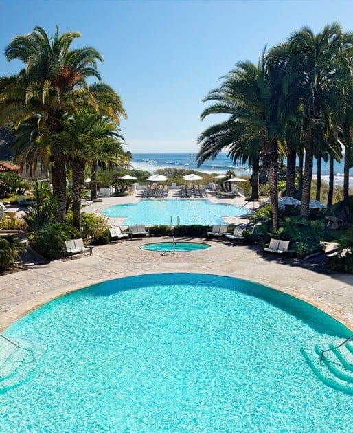 pool at bacara resort & Spa