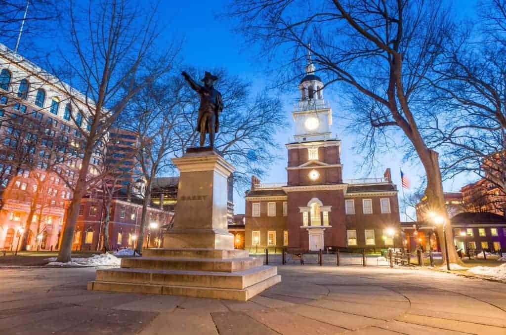 Independence Hall National Historic Park Philadelphia